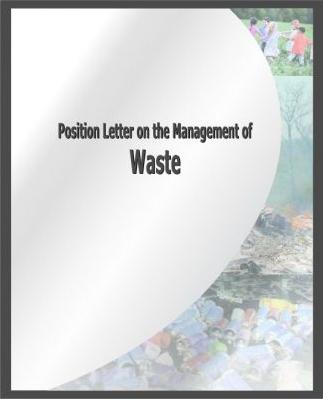 Letër Pozicionimi mbi menaxhimin e Mbetjeve