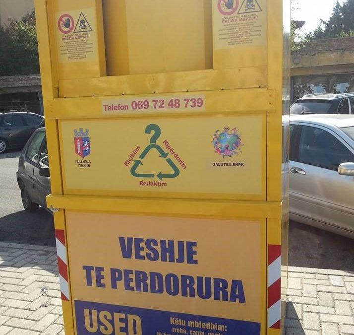 Ripërdorimi/riciklimi i teshave – për një mjedis të qëndrueshëm