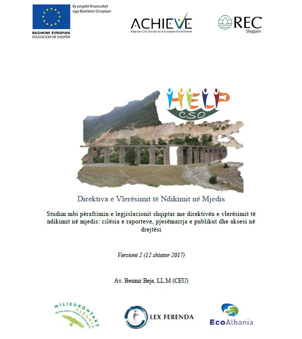 Direktiva e Vlerësimit të Ndikimit në Mjedis