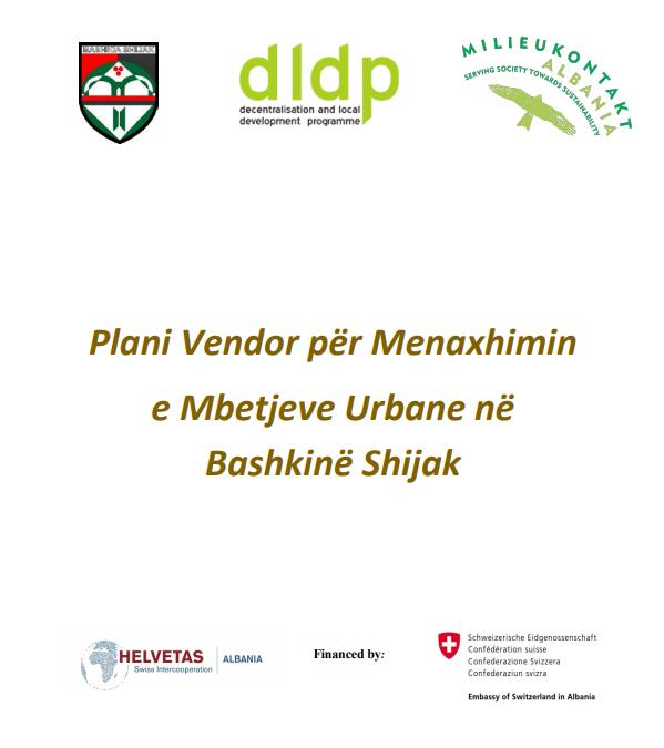Plani Vendor i Menaxhimit të Mbetjeve Urbane në Bashkinë Shijak