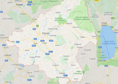 Baseline data and diagnostics of Solid Waste Management in Elbasan catchment area