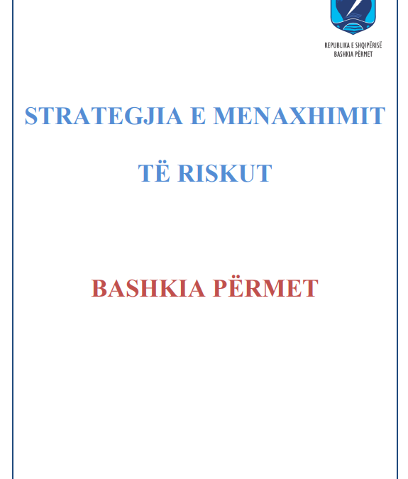The strategy of Risk Management Municipality of Përmet