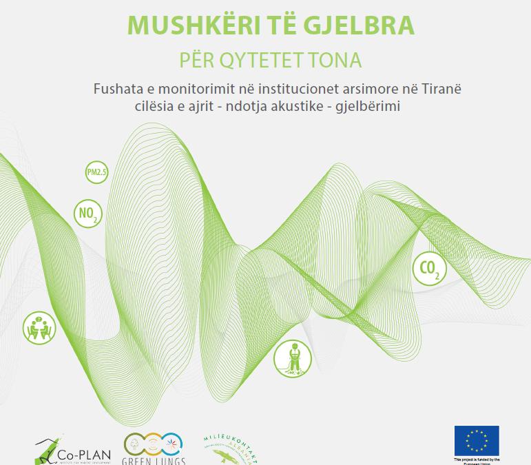 Fushata e monitorimit në institucionet arsimore në Tiranë