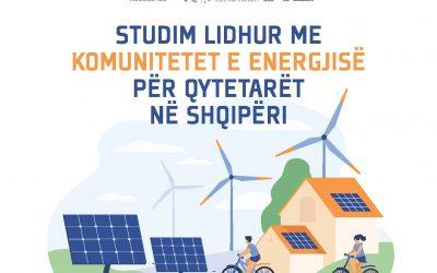 Studim lidhur me Komunitetet e Energjisë për Qytetarët në Shqipëri