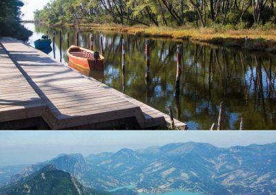 """""""Mirëmbajtja e shtigjeve në parkun Kombëtar Dajt dhe Divjakë-Karavasta"""" nance of the unified outdoor hiking trails in Dajti and Divjake-Karavasta NPs"""""""